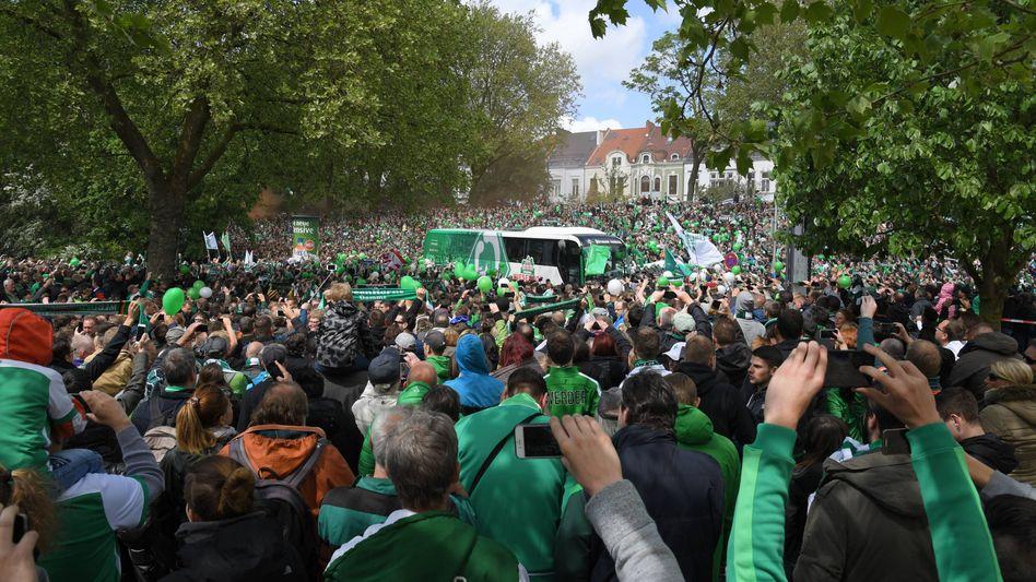 Werder-Fans
