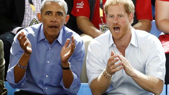 """Prinz Harry interviewt Obama: """"Sie freuen sich - und ich bin nervös"""""""