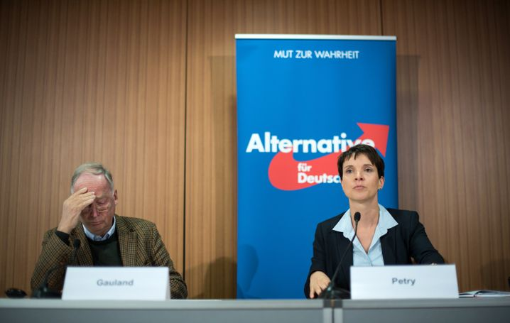 AfD-Vize Gauland und Petry in Berlin