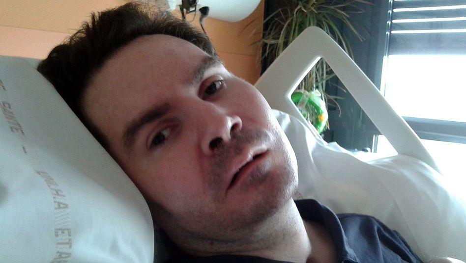 Wachkoma-Patient Vincent Lambert im Jahr 2015