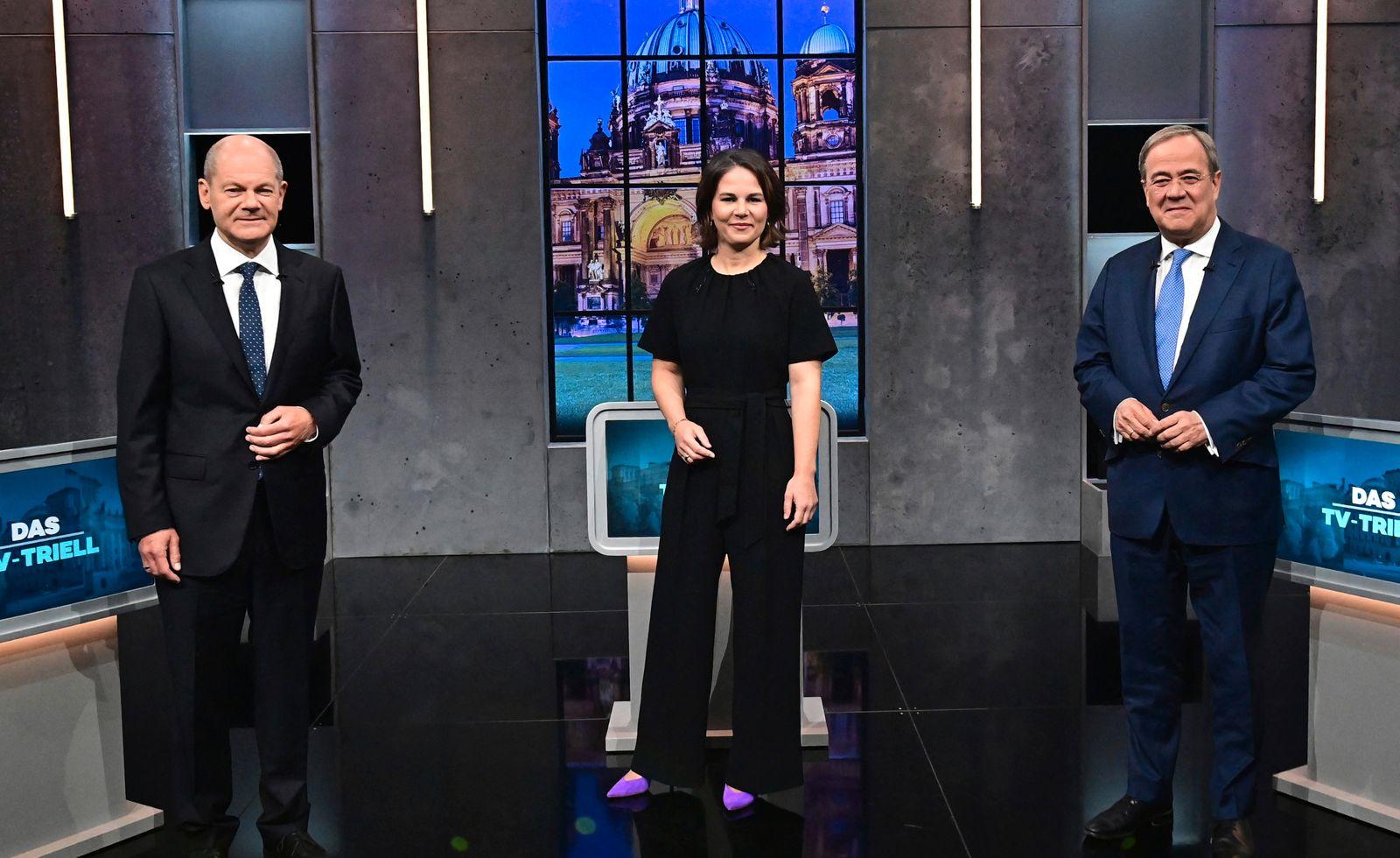 GERMANY-POLITICS-PARTIES-ELECTION-TV-DEBATE