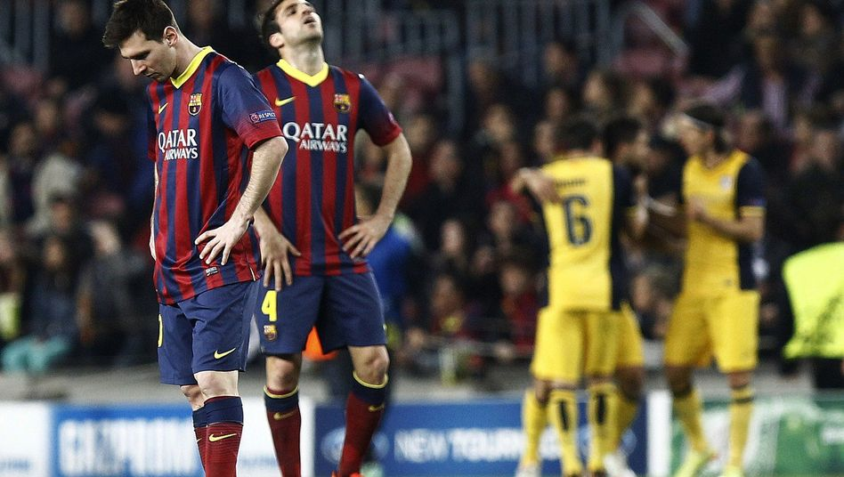 Barça-Stars Messi (l.), Fàbregas: Erst mal keine Verstärkungen