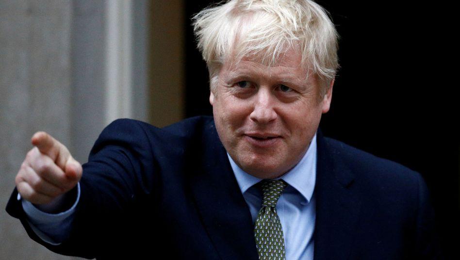 Britischer Premier Boris Johnson: Klare Signale in Richtung der verbleibenden EU-Staaten