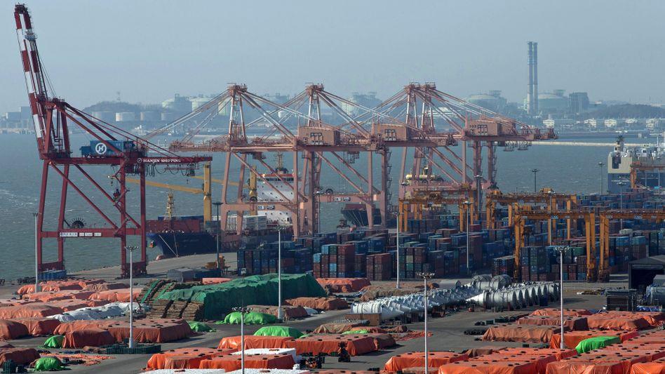 Hafen von Pyeongtaek