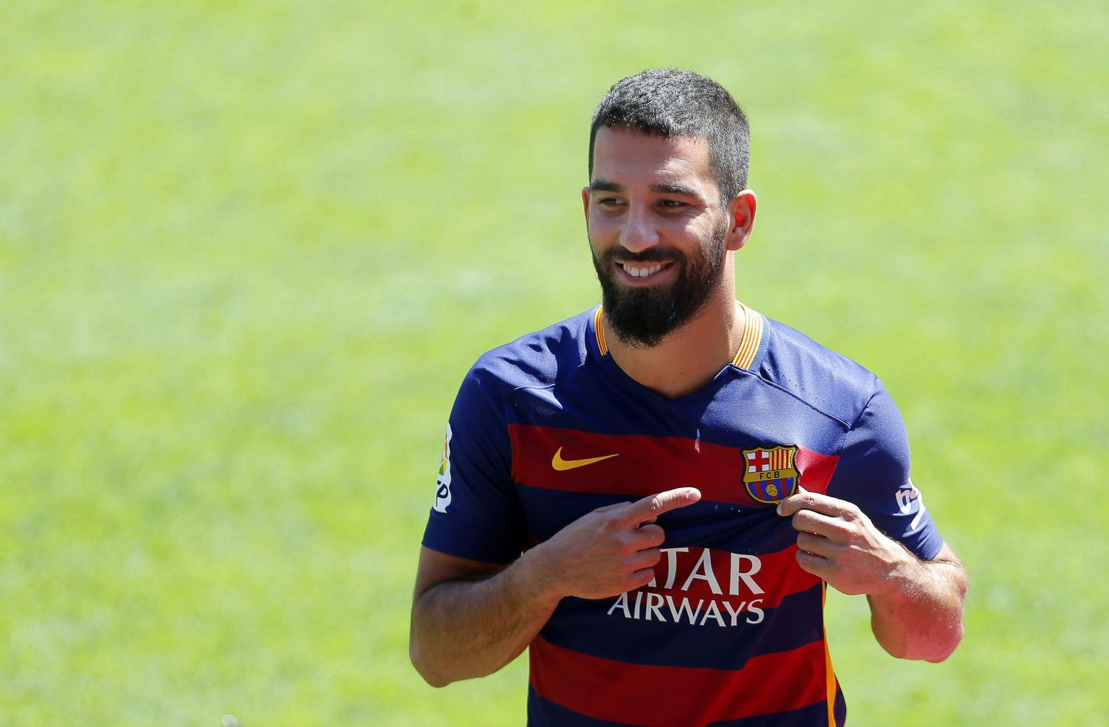 FC Barcelonas new Turkish midfielder Arda Turan