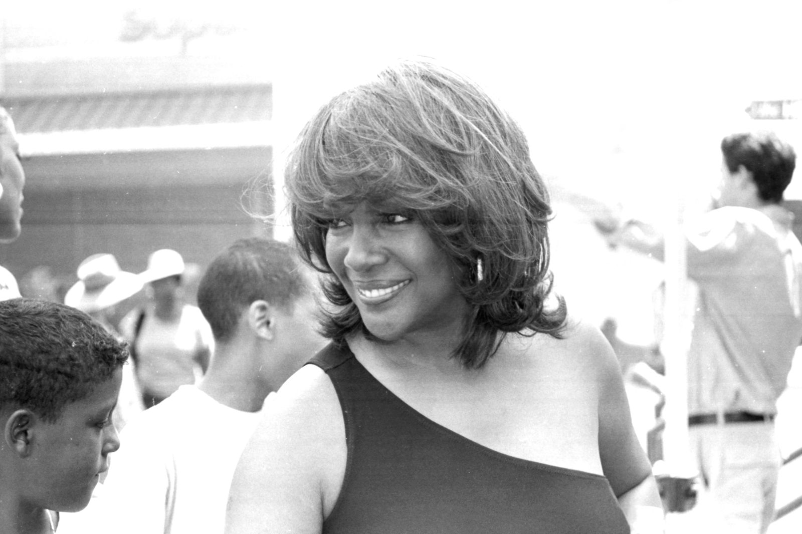 Mary Wilson In Detroit 2001