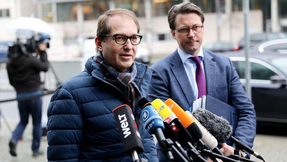Alexander Dobrindt, Andreas Scheuer