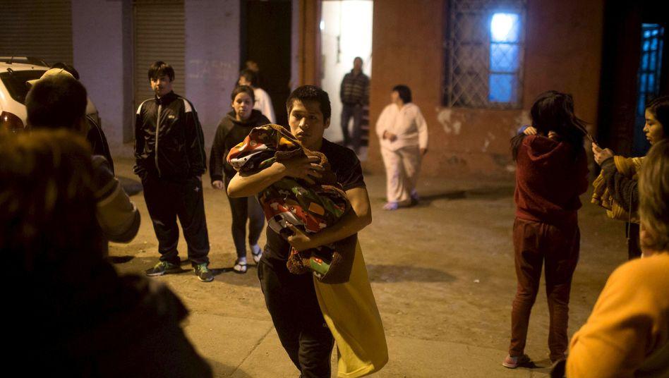 Tsunami-Warnung: Schweres Erdbebenerschüttert Chile