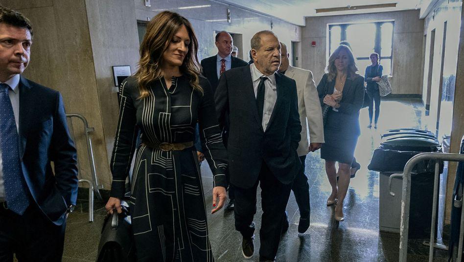 Verteidigerin Rotunno, Angeklagter Weinstein