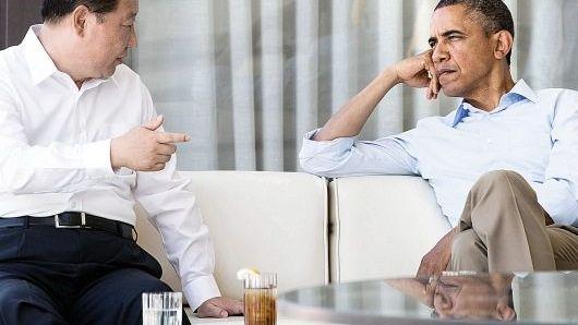 Präsidenten Xi, Obama in Kalifornien 2013: Ein virtueller Feldzug beider Seiten
