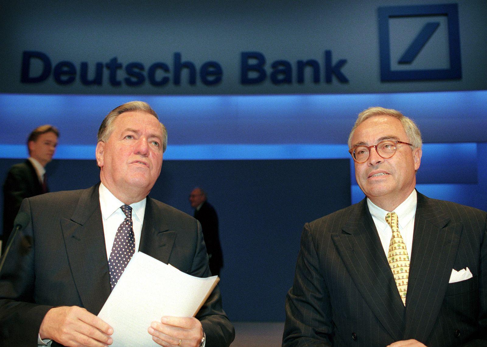 Deutsche Bank Geschichte/ Kopper/ Breuer