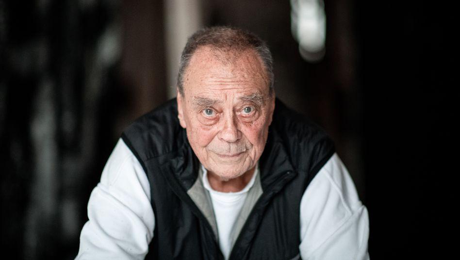Künstler Günther Uecker