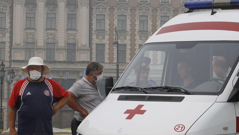 Moskau: Gefahr in der Luft