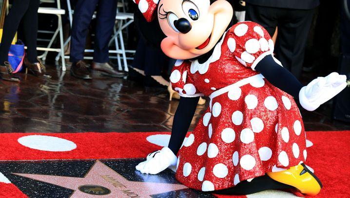 Mäuseglück in Hollywood: Ein Stern für Minnie