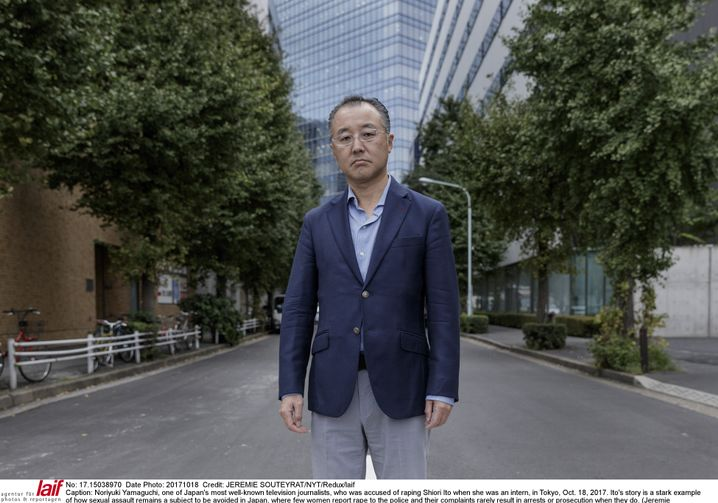 Noriyuki Yamaguchi is a well-known journalist in Japan. Shiori Ito accuses him of raping her.