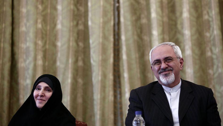 """Irans Außenminister Sarif: """"Wir hatten niemals ein Problem mit den Juden und der jüdischen Religion"""""""