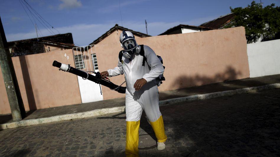 Anti-Moskito-Einsatz in Brasilien: 4074 Mikrozephalie-Verdachtsfälle bis Ende Januar