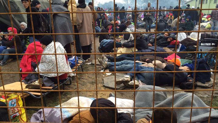 Flüchtlinge in Slowenien: Das Chaos von Brezice