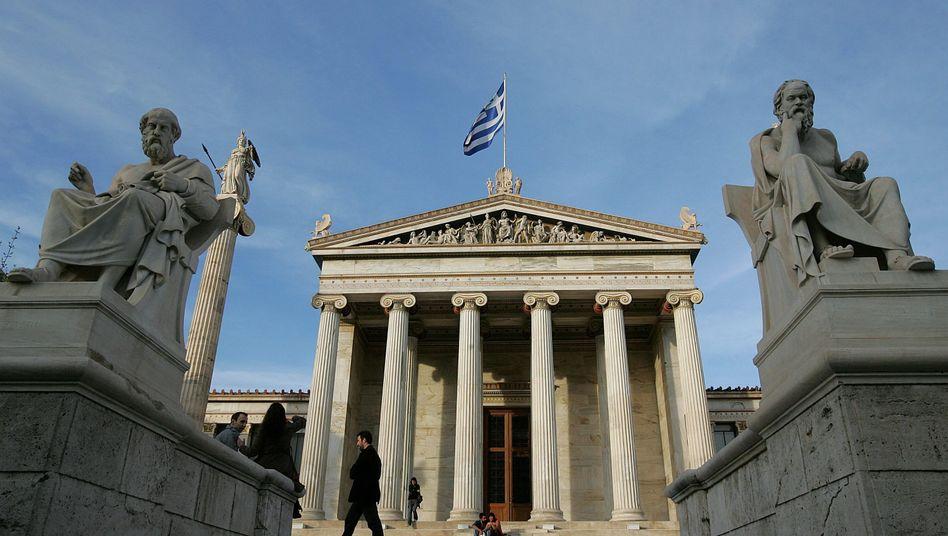 Akademie der Künste in Athen: Rettung nur unter harten Bedingungen