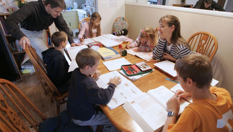 Hausunterricht bei Romeikes (Archiv): Die Familie bekommt doch kein Asyl in den USA