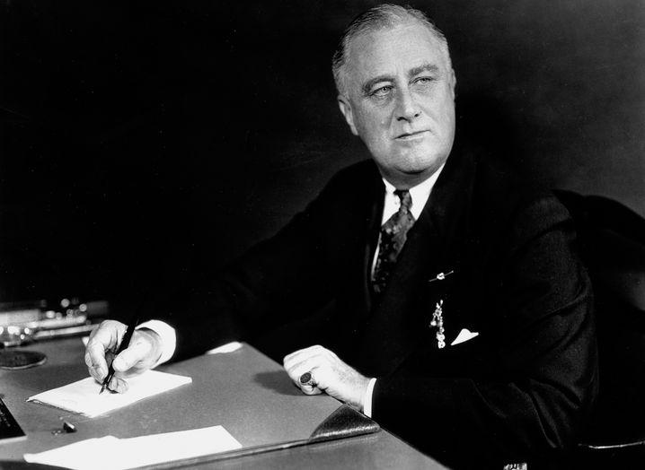 Kriegspräsident Franklin D. Roosevelt (hier 1937) unterschrieb rund 300 Erlasse pro Jahr