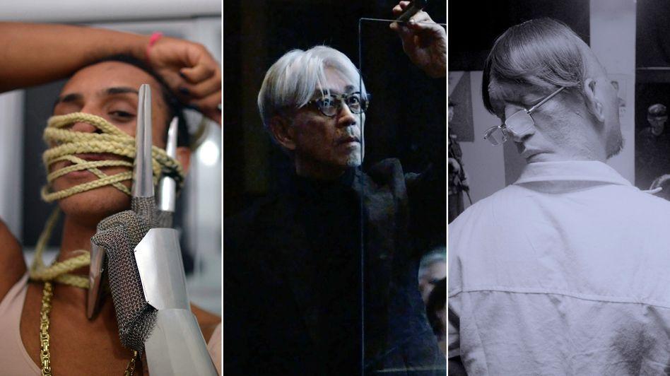 "Von links: ""Bixa Travesty"", ""Ryiuichi Sakamoto: async at the Park Armory"" und ""Ang Panahon ng Halimaw"""