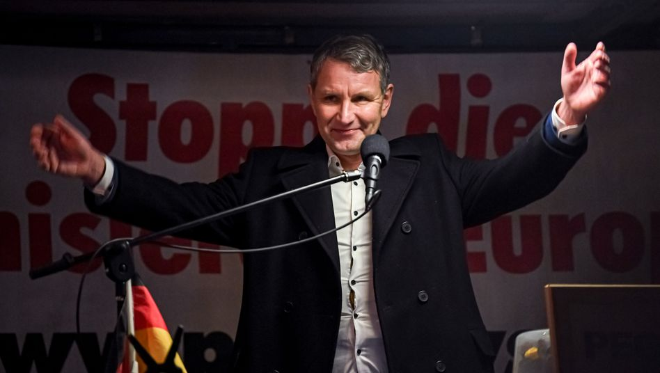 Bei Höcke-Auftritt: CDU-Stadtrat aus Radebeul marschierte offenbar bei Pegida mit