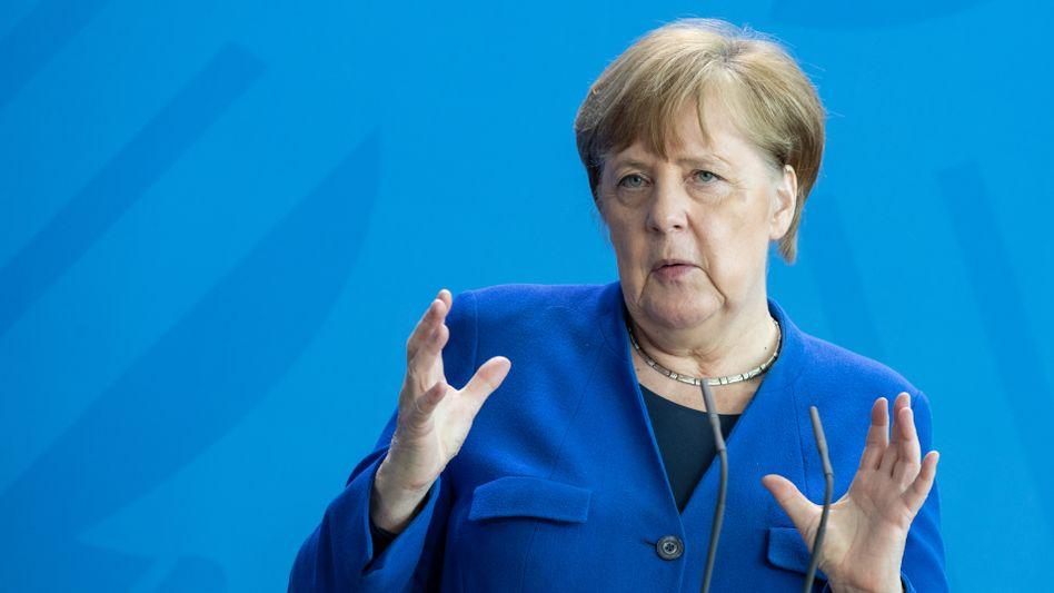 """Kanzlerin Merkel will keine """"Öffnungsdiskussionsorgien"""""""