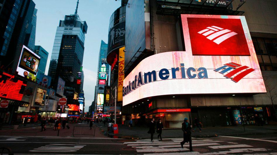Filiale der Bank of America in New York: Neuer Ärger droht