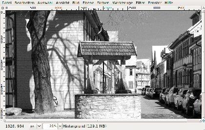 Ohne Farbe: Beim Umwandeln eines Fotos nach Schwarzweiß kann man mit dem Kanalmixer mehr Einfluss auf das Ergebnis nehmen ...