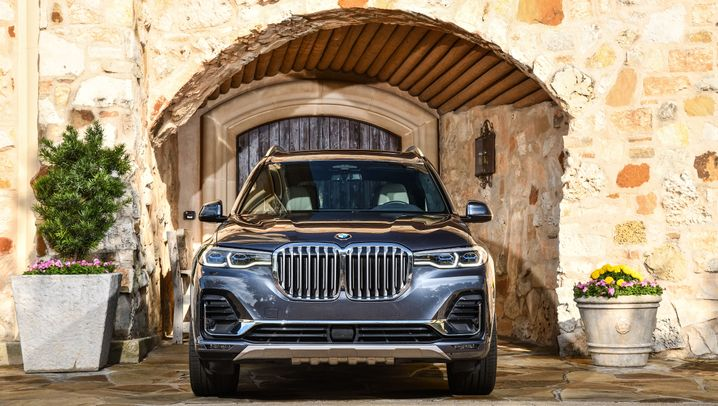 Autogramm BMW X7: Fettes Teil