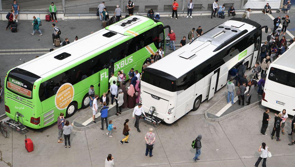 Terminal für Fernbusse in Frankfurt am Main (Archivbild)