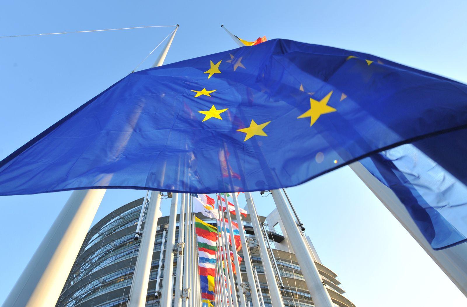 EU-Parlament / Flaggen