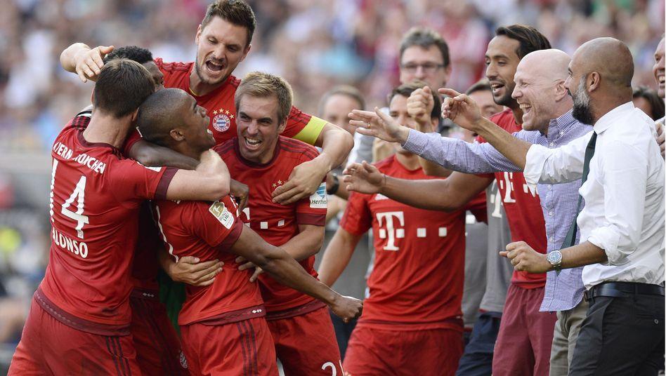 Später Bayern-Jubel: Niemals abschreiben