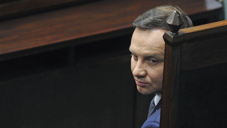 Präsident Andrzej Duda: Reform unterzeichnet