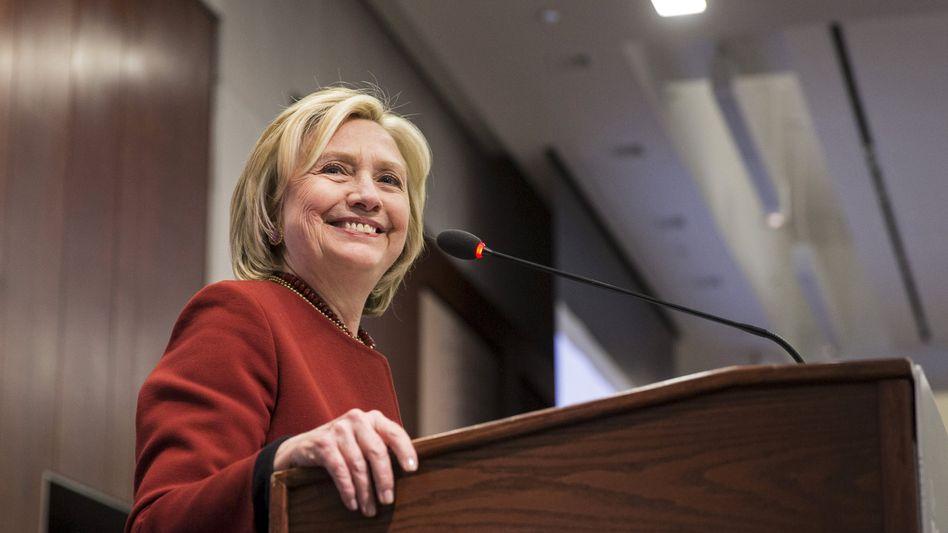 Ex-Außenministerin Hillary Clinton: Selber vorsortiert - und dann gelöscht