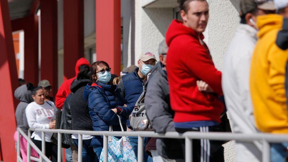 Beratungszentrum für Arbeitslose in Las Vegas: Unerwartet schlechte Daten