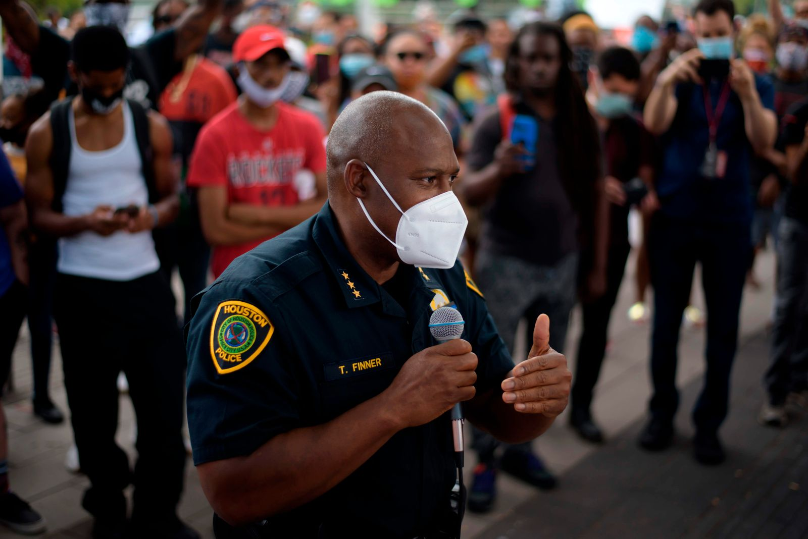 Protest against police killing of George Floyd