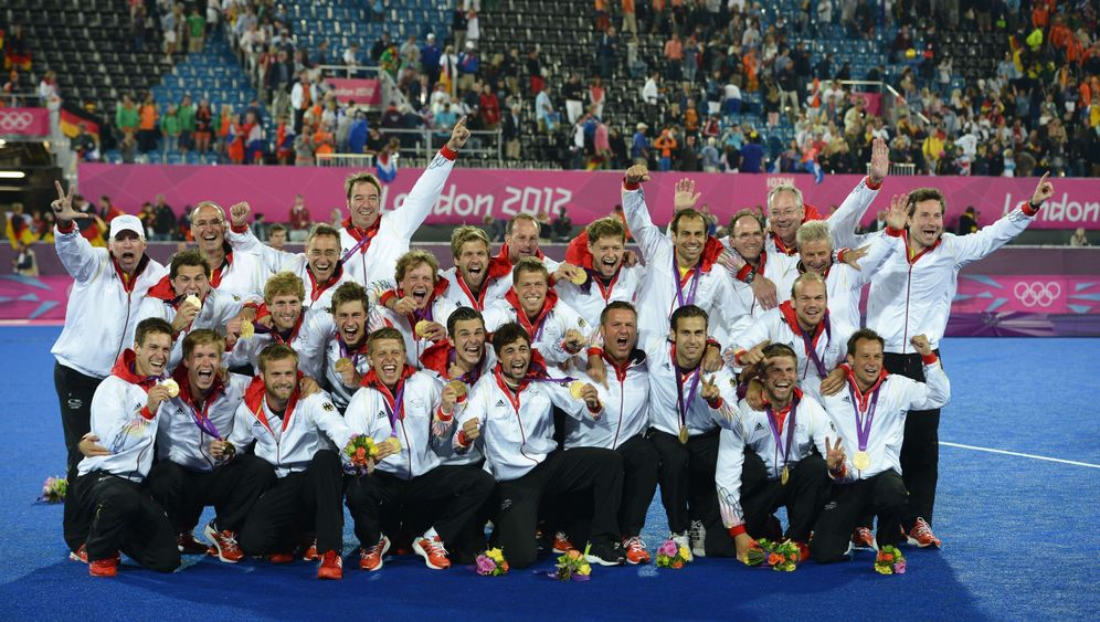 Hockey-Olympiasieg: Finalsieg gegen die Niederlande