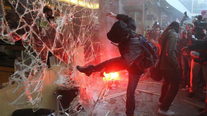 Studentenprotest: Krawall in London