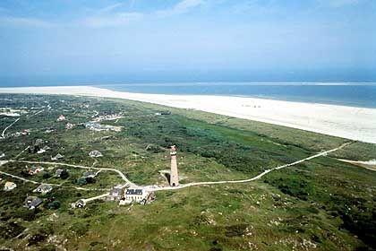 Kleinste Watteninsel der Niederlande: Schiermonnikoog ist nur 16 Kilometer lang und vier Kilometer breit