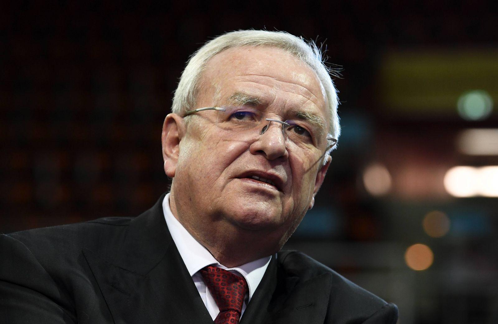 Martin Winterkorn ehemaliger deutscher Manager aufgenommen in Muenchen Bayern am 24 November 2