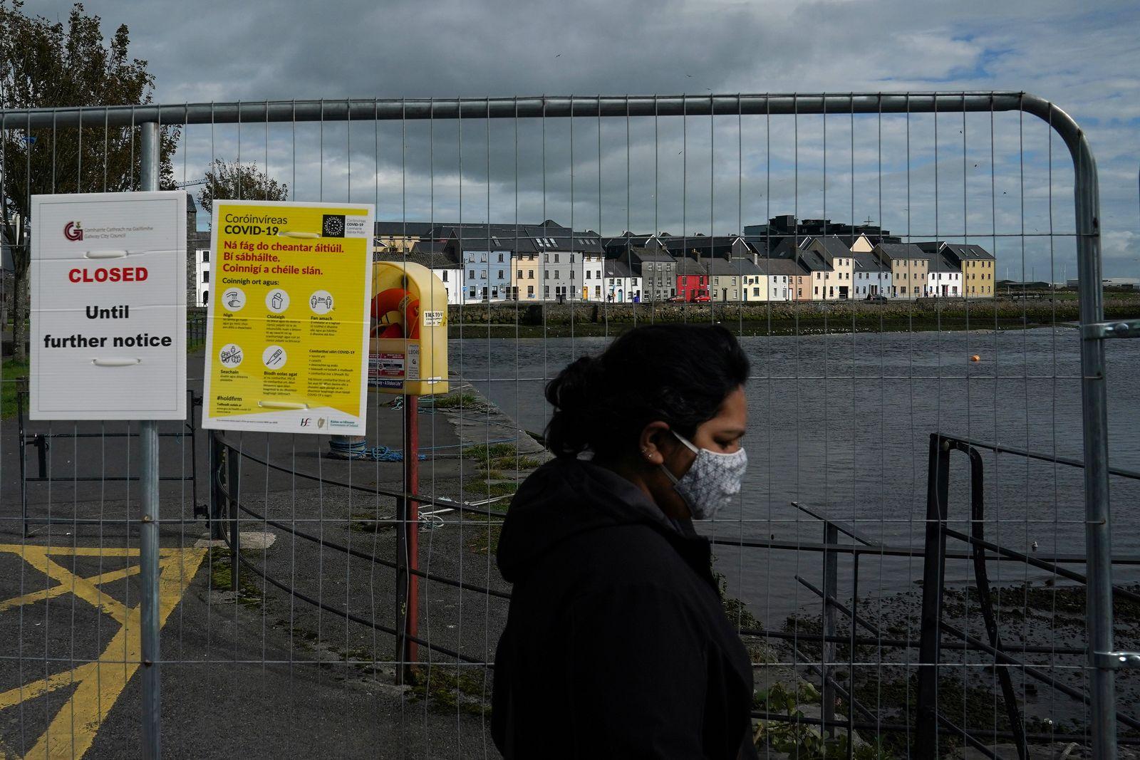 Outbreak of the coronavirus disease (COVID-19) pandemic in Galway