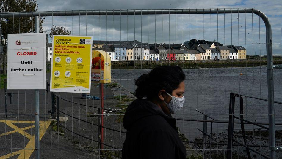 """Coronakrise in Irland: """"Jeder im Land wird gebeten, zu Hause zu bleiben"""", sagte Ministerpräsident Martin"""