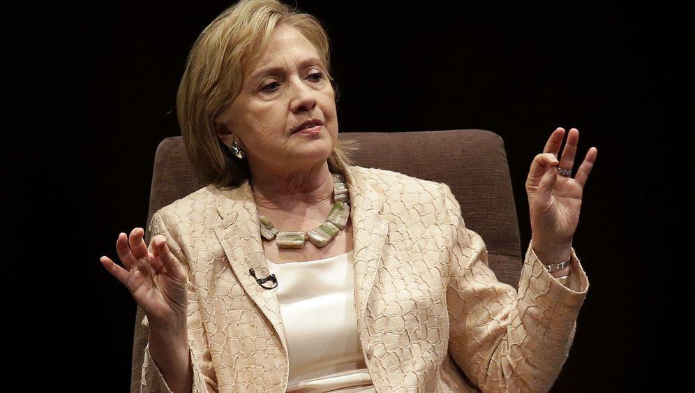 Hillary Rodham Clinton: In die erste Reihe!