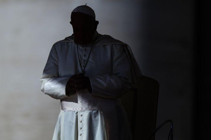 Papst Franziskus auf dem Petersplatz (Archivbild)