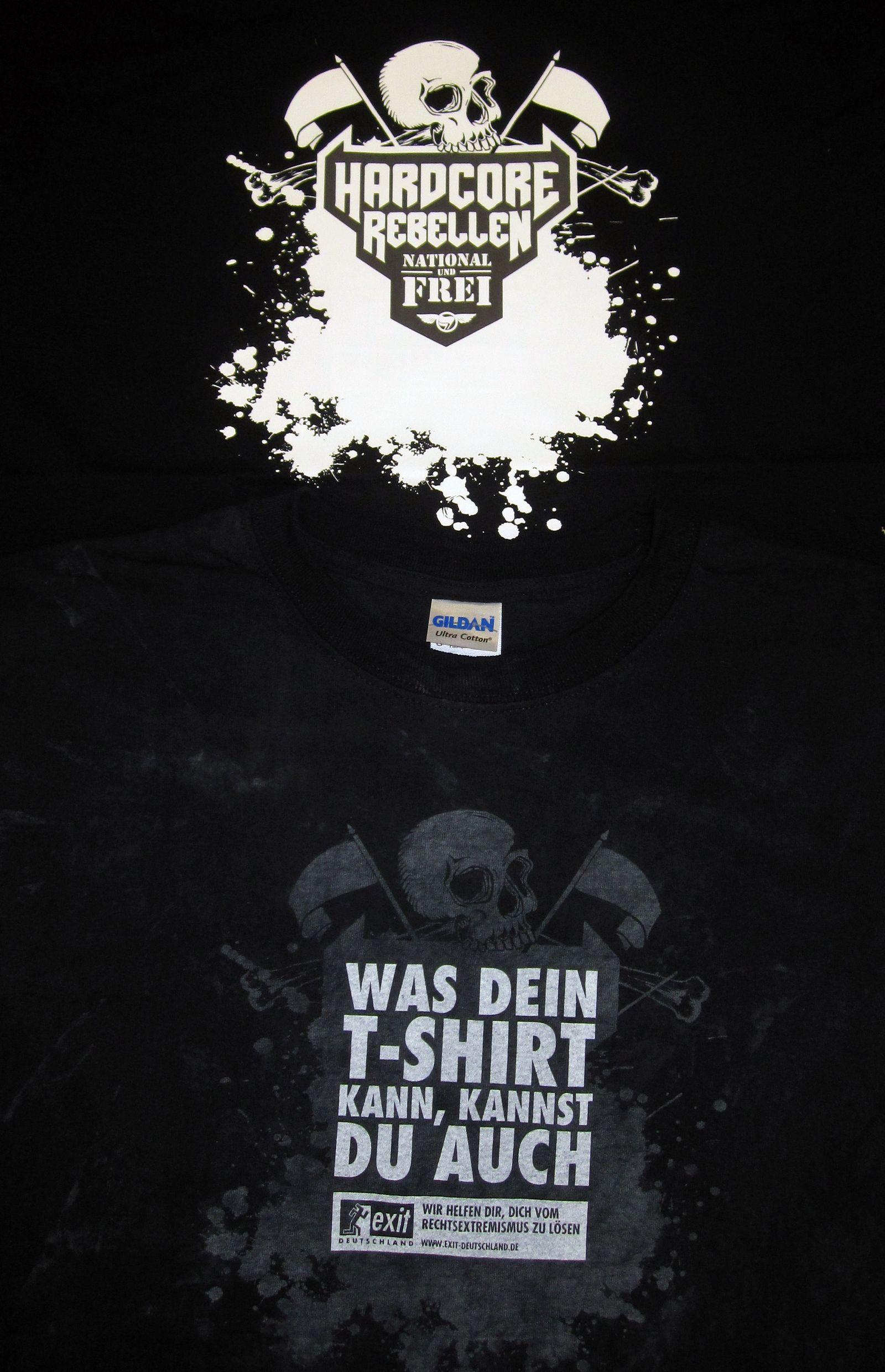 Neonazis / Trojaner-T-Shirts