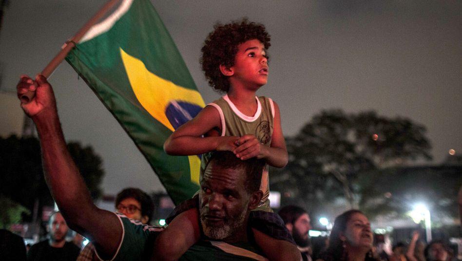 Protest gegen Kandidat Bolsonaro in Sao Paulo