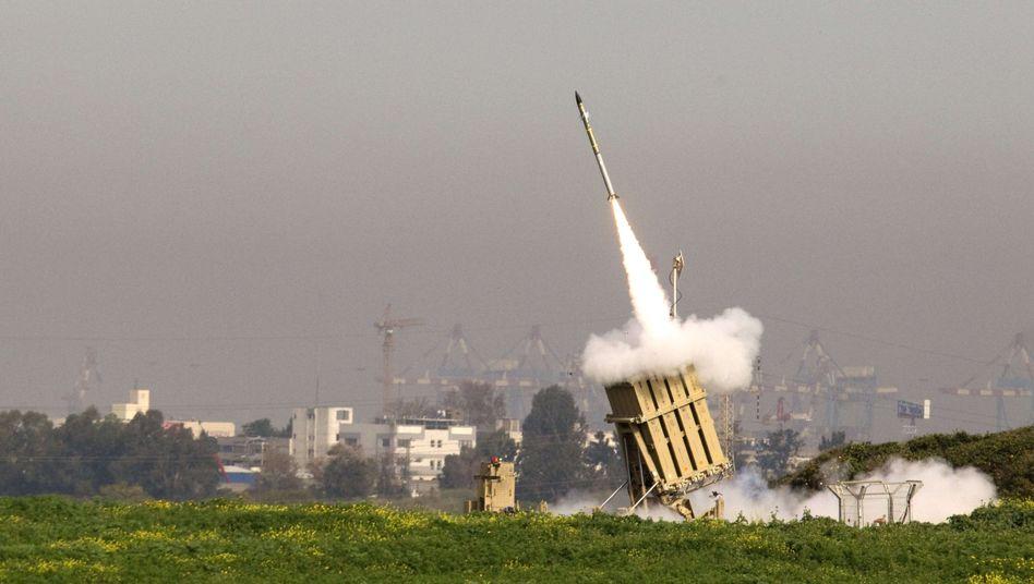 Raketenabwehr Iron Dome: Trefferquote 85 Prozent