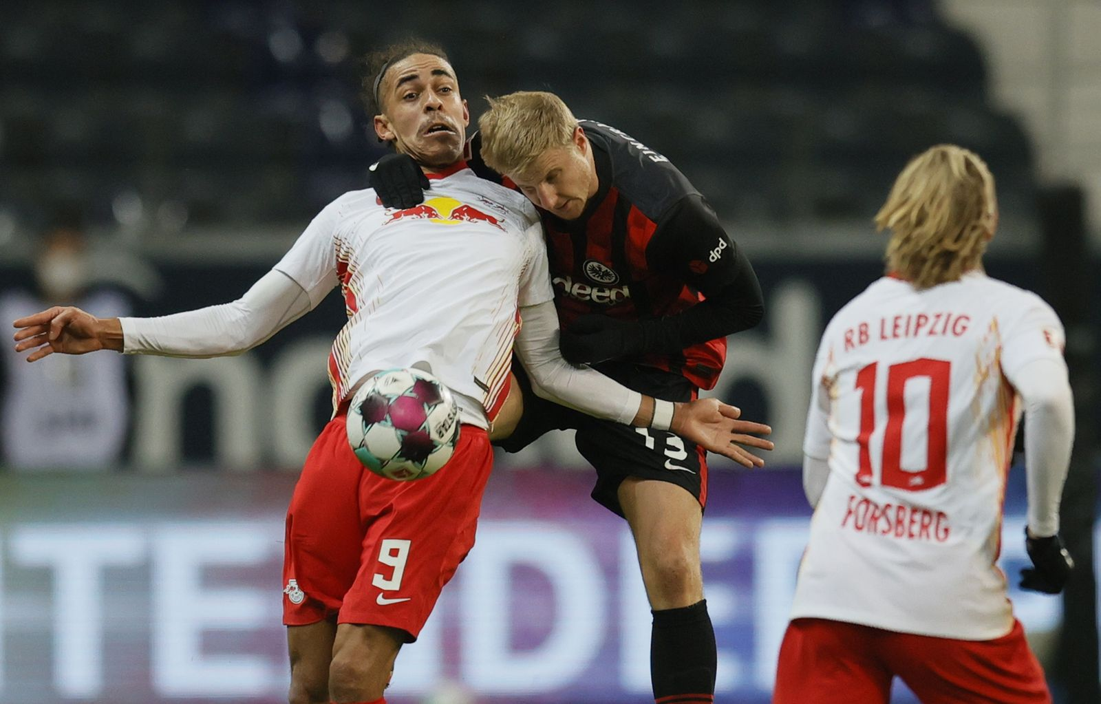 Eintracht Frankfurt vs RB Leipzig, Frankfurt Main, Germany - 21 Nov 2020